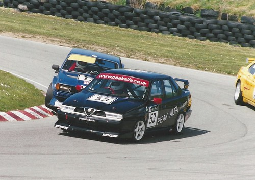 Graham Seager leads Andy Page and Ian Brookfield at Anglesey 2005