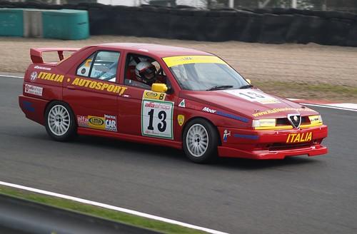 John Pogson at Oulton Park in 2007