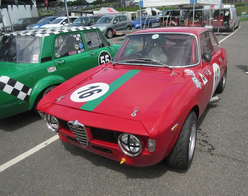 No disputing the winner at Lydden - James Colburn's Giulia coupe