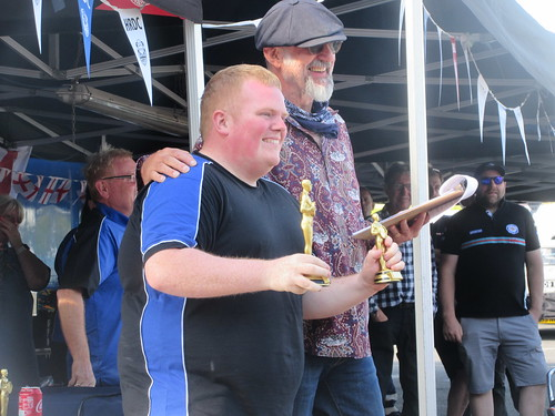 James Colburn a double race winner at Lydden