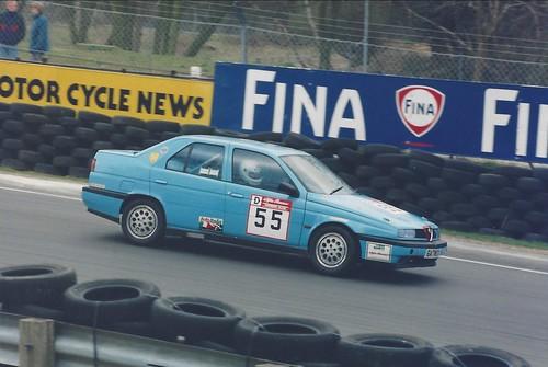 Ron Davidson in Fiat engined 155 4wd at Brands 1995
