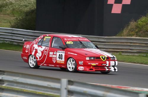 Jamie Thwaites in his 155 at Snetterton 2020