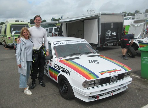 The Horsfield family are Classic Alfa regulars