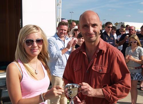 Graham Seager Class winner Silverstone 2007