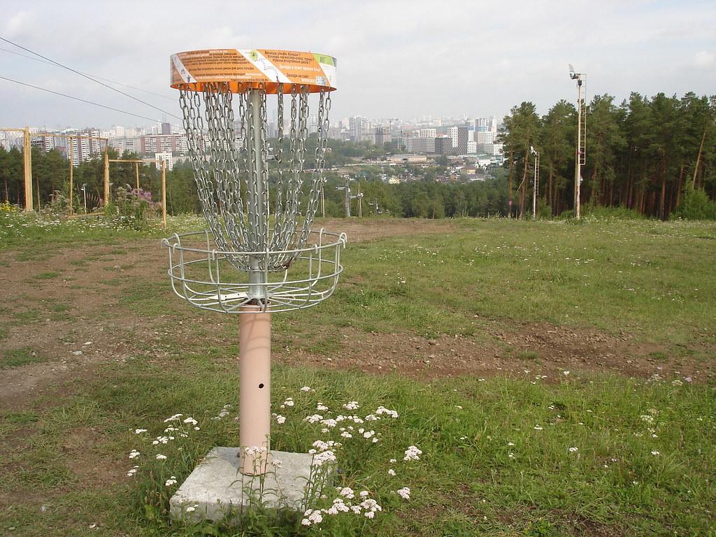 фото: Корзина для диск-гольфа