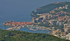 Budva on the Adriatic.