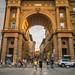 Arch of Triumph at Piazza della Repubblica