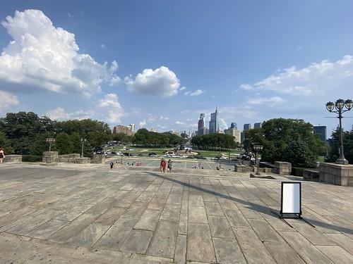 View from Philadelphia Museum of Art 7273 Jul 15 2021