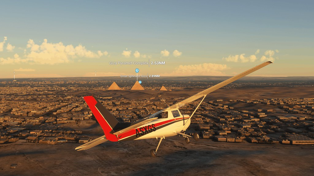 《微軟模擬飛行》玩家現在能於飛行過程中啟動 POI 標籤,藉此了解城市、山脈和其他地標之間的相對位置