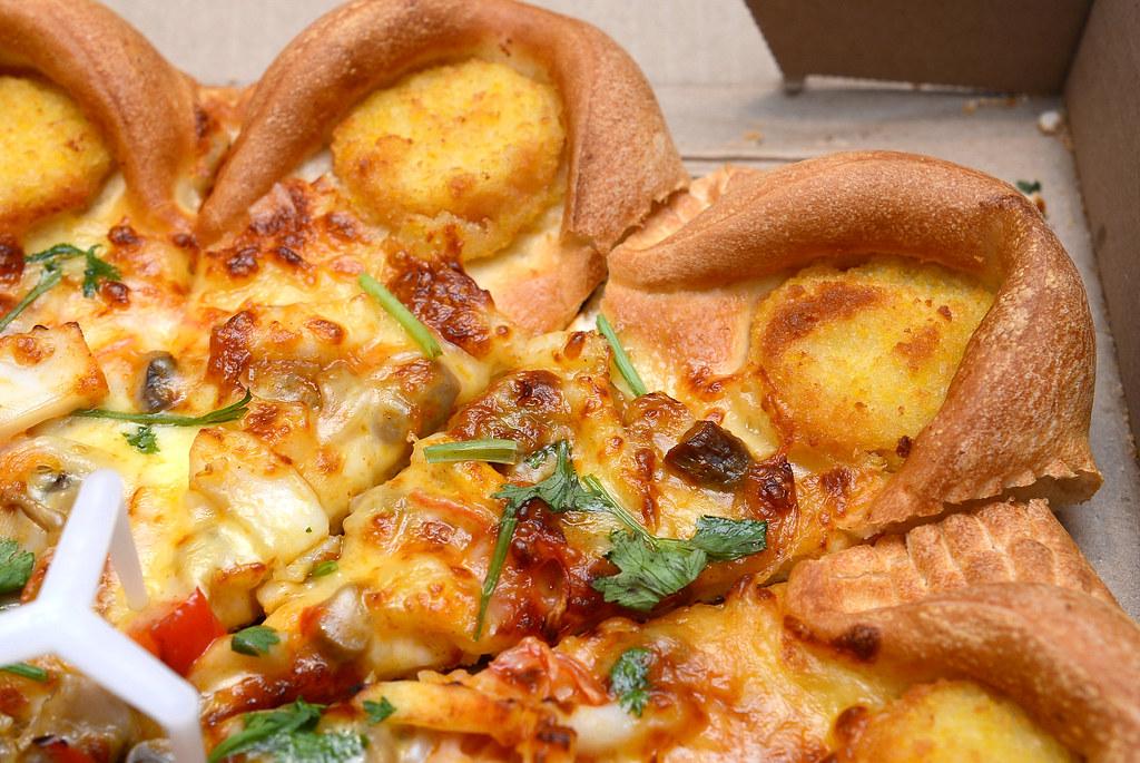 PizzaHut 冬陰功披薩套餐