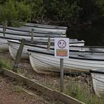 keep one boat length apart