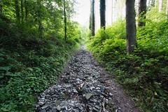 Damaged path near Stauséi