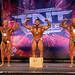 Men's Bodybuilding - Open Light Heavyweight 2nd Hankey 1st Zappitelli 3rd Kinney