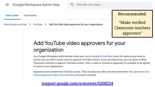 Add YouTube video approvers for your org by Wesley Fryer, on Flickr