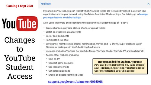 Changes to YouTube Student Access (Sept by Wesley Fryer, on Flickr