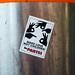 Sticker von Die PARTEI mit der Botschaft