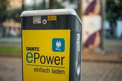 Eine ÖAMTC ePower Ladestation in Wien
