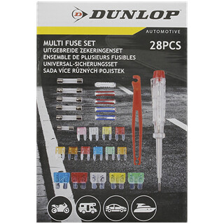 fuse kit - various fuses assorted  incuding voltage detector + fuse puller