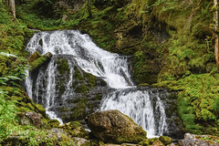 La cascade du Bruyant (Vercors)