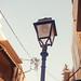 Lamp post closeup.