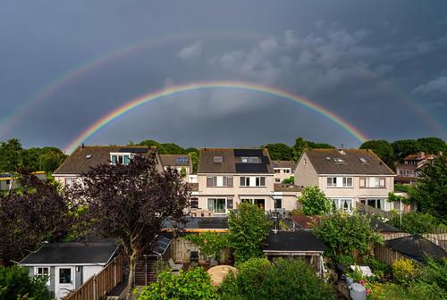 Double rainbow - Lelystad
