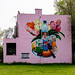 Soda, Water, Fruit, Flowers mural. Gary Indiana, 2010