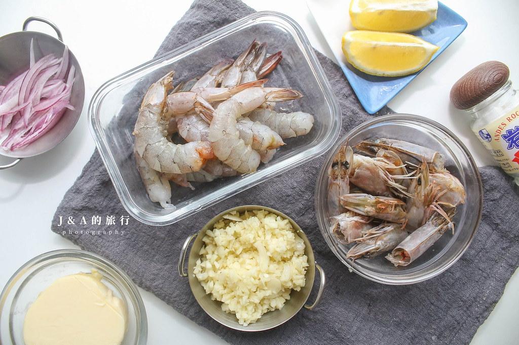 【食譜】沖繩蝦蝦飯。源自於夏威夷的蒜香奶油蝦飯,讓蝦香味更濃郁的做法 @J&A的旅行