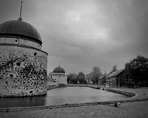 The Moat at Vadstena Castle