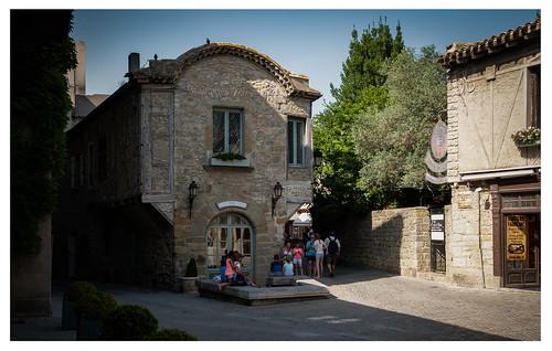 Scorcio borgo antico di Carcassonne