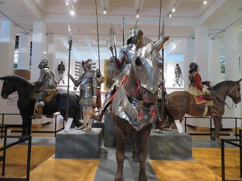 UK - Yorkshire - Leeds - Royal Armouries Museum - Men at arms - Armour