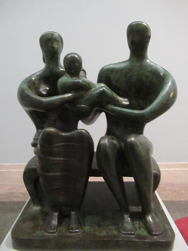 Family Group 1949, Henry Moore 1898-1986, National Collection of British Art, Tate Britain, Millbank, City of Westminster, London, SW1P 4RG (1)