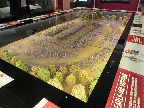 UK - Yorkshire - Leeds - Royal Armouries Museum - Model - Battle of Agincourt
