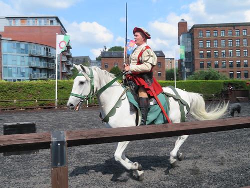UK - Yorkshire - Leeds - Royal Armouries Museum - Tilt Yard