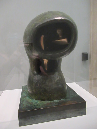 Helmet Head No. 4, Interior-Exterior 1963, Henry Moore 1898-1986, National Collection of British Art, Tate Britain, Millbank, City of Westminster, London, SW1P 4RG