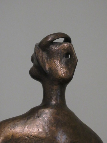 King and Queen 1952-3, cast 1957, Henry Moore 1898-1986, National Collection of British Art, Tate Britain, Millbank, City of Westminster, London, SW1P 4RG (3)