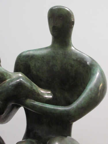 Family Group 1949, Henry Moore 1898-1986, National Collection of British Art, Tate Britain, Millbank, City of Westminster, London, SW1P 4RG (3)