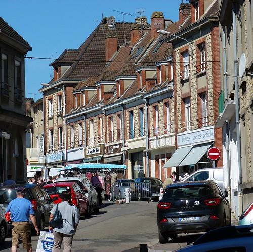 Eglise (rue de l') de l'esplanade, marché
