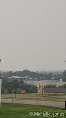 August 7, 2021 - Smoky skies in Thornton. (Michelle Jones)