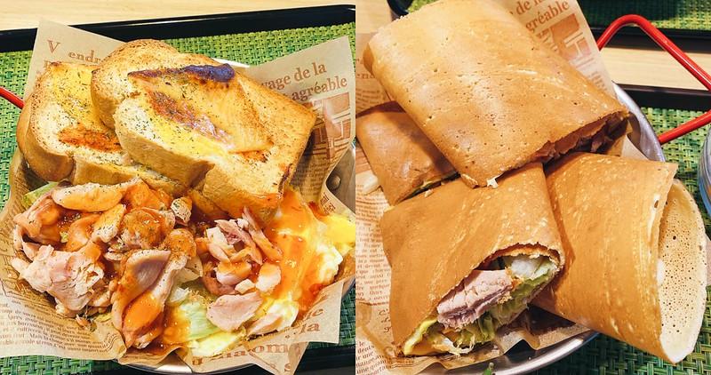 【台南美食】輕鬆點全日餐館 高CP值早午餐~ 手作可麗薄餅份量超多!