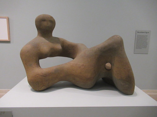 Recumbent Figure 1938, Henry Moore 1898-1986, National Collection of British Art, Tate Britain, Millbank, City of Westminster, London, SW1P 4RG