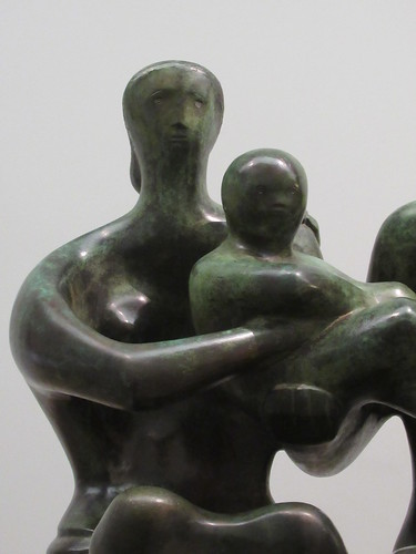 Family Group 1949, Henry Moore 1898-1986, National Collection of British Art, Tate Britain, Millbank, City of Westminster, London, SW1P 4RG (2)