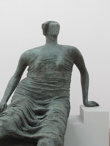 Draped Seated Figure 1957-8, Henry Moore 1898-1986, National Collection of British Art, Tate Britain, Millbank, City of Westminster, London, SW1P 4RG (3)