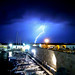 A thunder bursting into a hot night of summer ⚡⛈️
