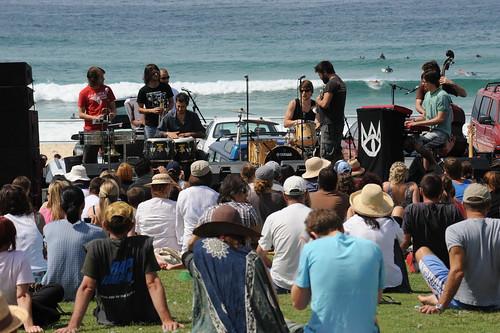 Busking At Bondi Beach 2009