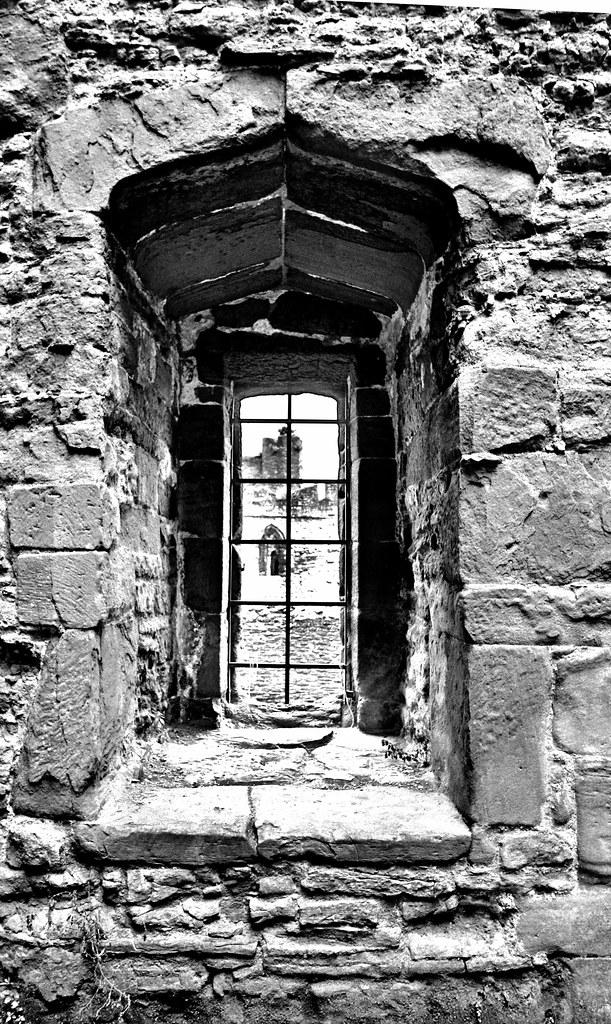 Black And White Window.