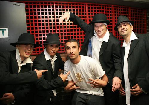 Backstage Brisbane Riverstage 2008