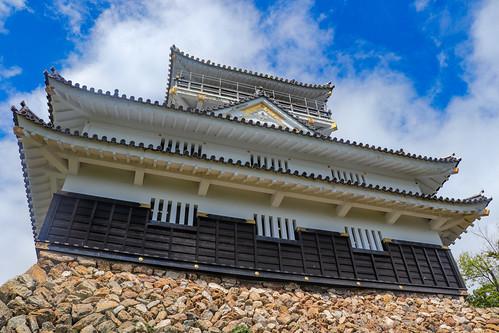 Nově postavený hrad v Gifu
