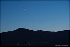 Conjonction géocentrique en longitude entre Vénus et la Lune