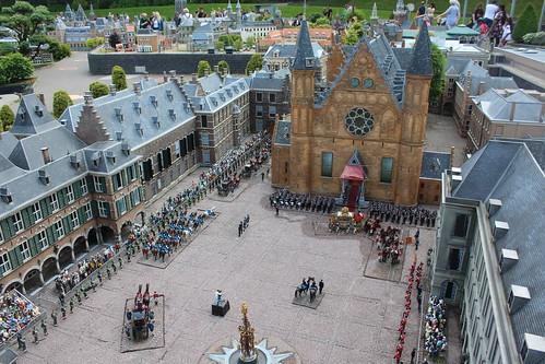 Madurodam: het Binnenhof, The Hague