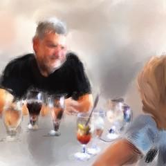 Lost in Marfa: Friends at Bar Saint George